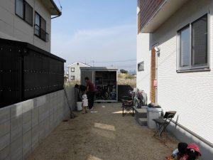エクリフォのエクステリア工事 奈良市 カーポート新設工事