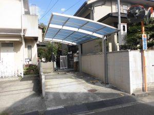 リフォのエクステリア工事 大阪府松原市 カーポート取付け工事