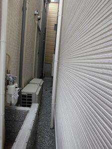 リフォの外構リフォーム 西淀川区 境界ブロック+フェンス新設工事