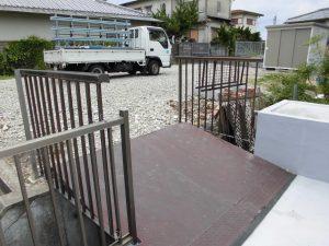 リフォのエクステリアリフォーム 奈良市 フェンス設置