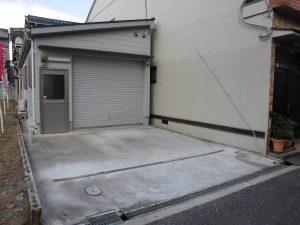 リフォのエクステリアリフォーム 東住吉区 カーポート取替えオーバーゲート設置工事